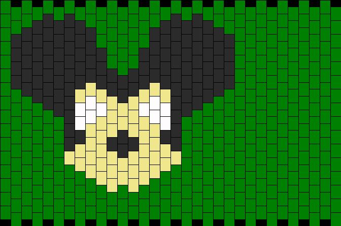 Mickey Deadmau5 Kandi Pattern