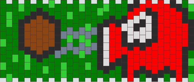 Octorok Kandi Pattern
