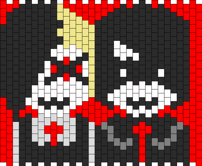 Frank And Gee Kandi Pattern
