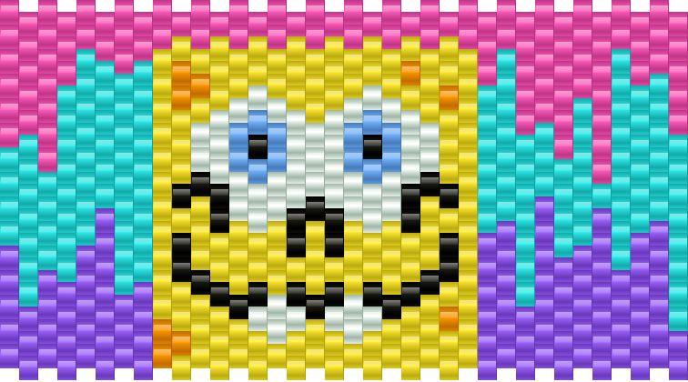 Spongebob melting background