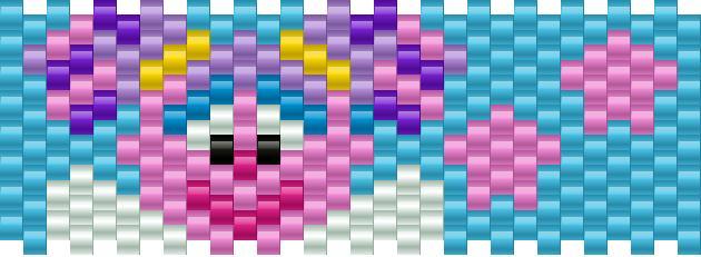 Abby Cadabby Small Kandi Pattern