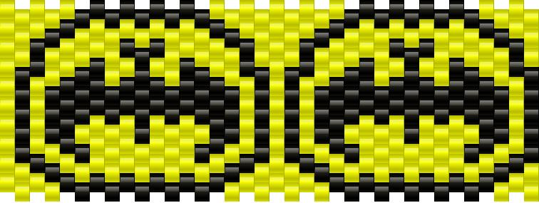 Batman Small Logo Kandi Pattern