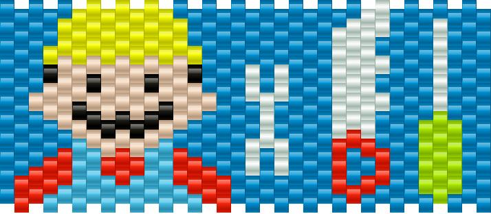 Bob The Builder Kandi Pattern