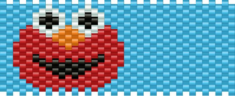 Elmo Kandi Pattern