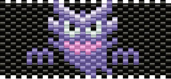 Haunter Kandi Pattern