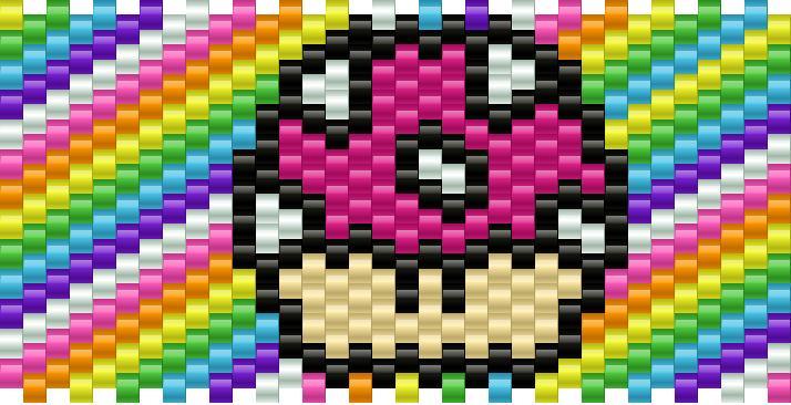 mario mushroom rainbow