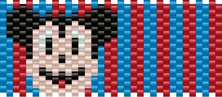 Mickeymouse Kandi Pattern
