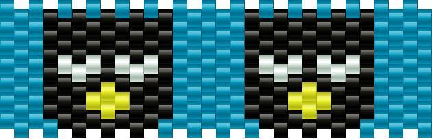 Mini Badtz Maru Kandi Pattern