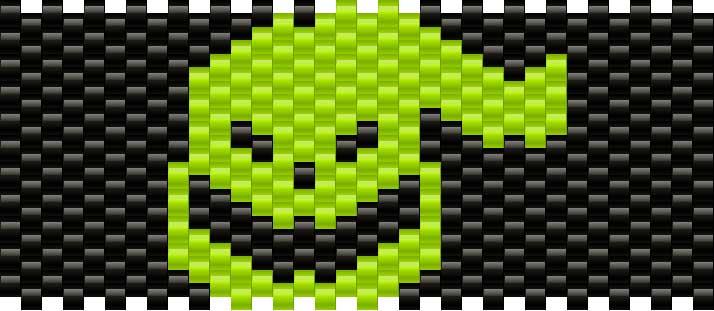 Oogieboogieman Kandi Pattern