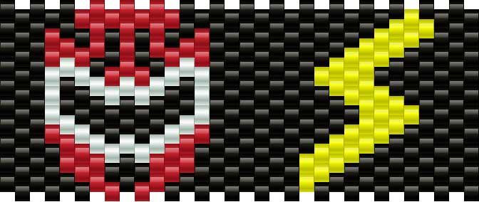 Powerrangersmall Kandi Pattern