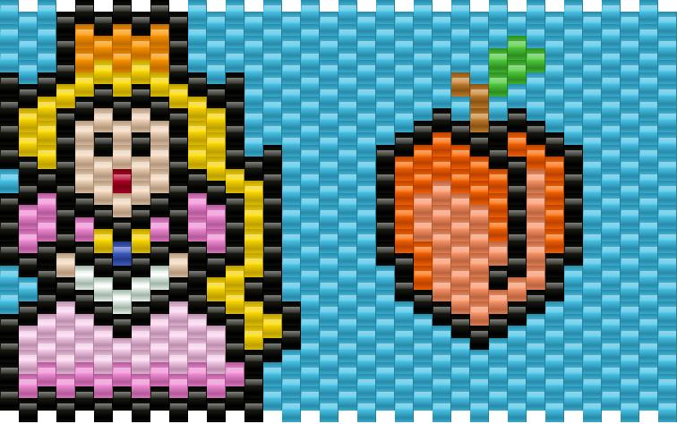 princess peach with peach
