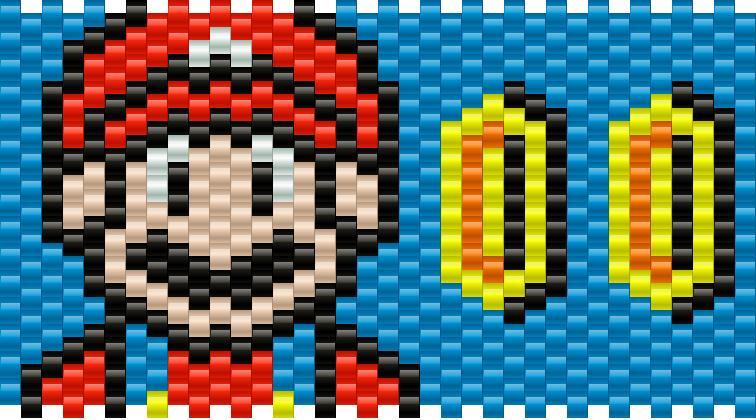 Super Mario Kandi Pattern