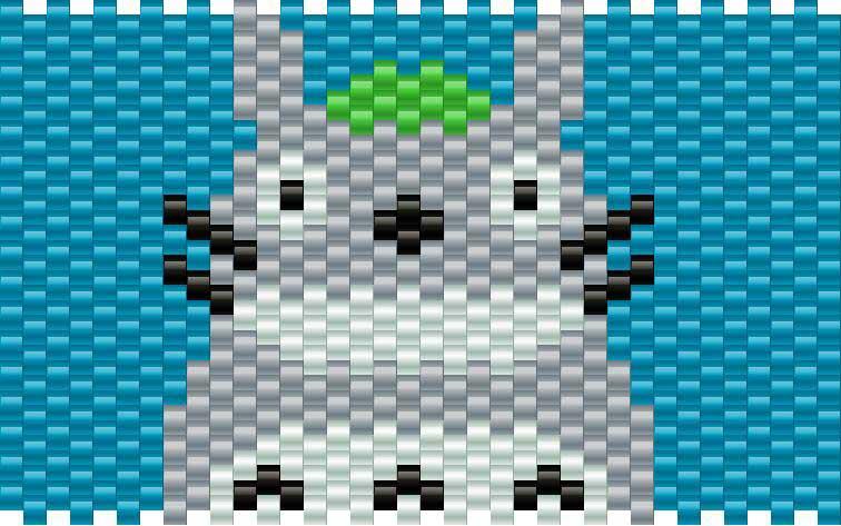Totorobig Kandi Pattern