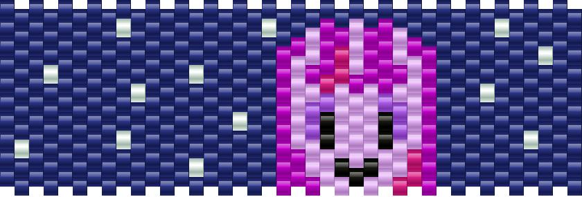 Twilight Sparkle My Little Pony Kandi Pattern