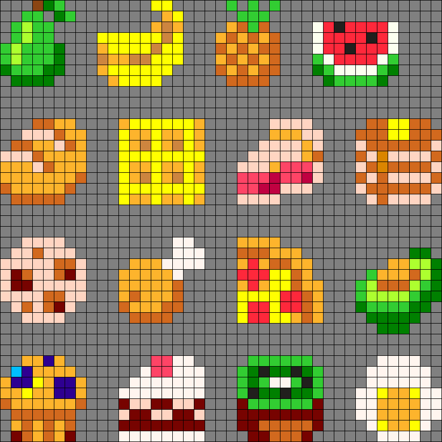 Little Pixel Foods X3