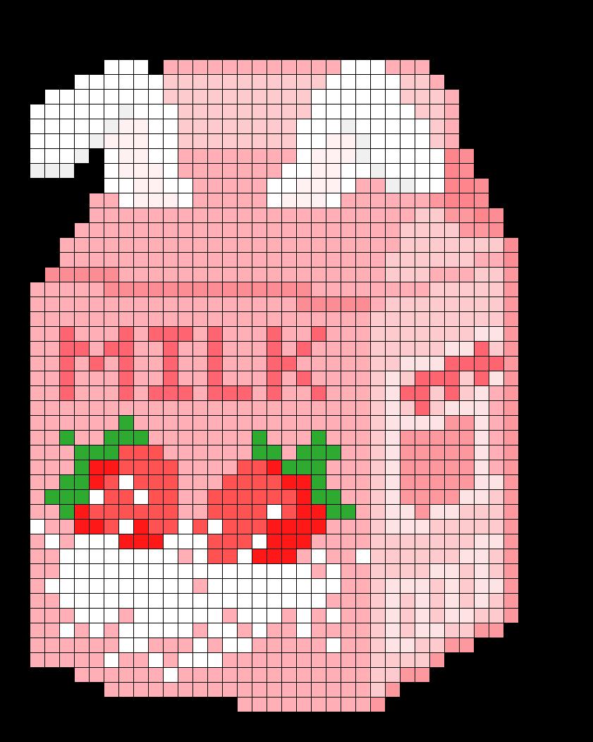 Bunny Strawberry Milk