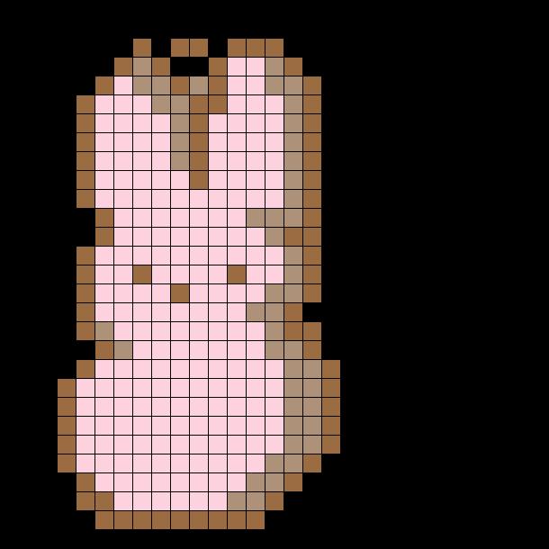 Peep Marshmallow Keychain!