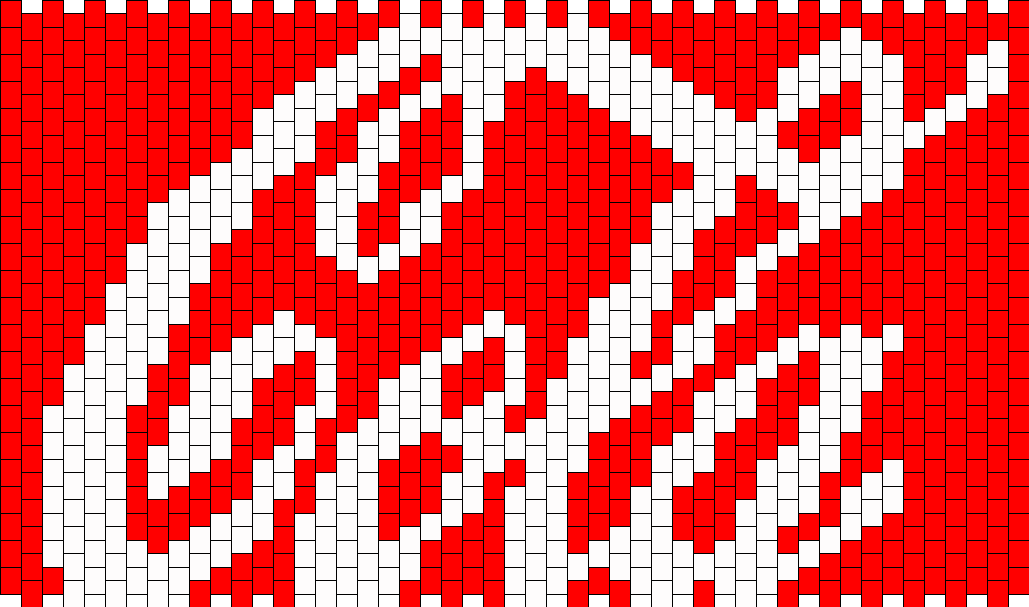 Cola Panel Bead Pattern