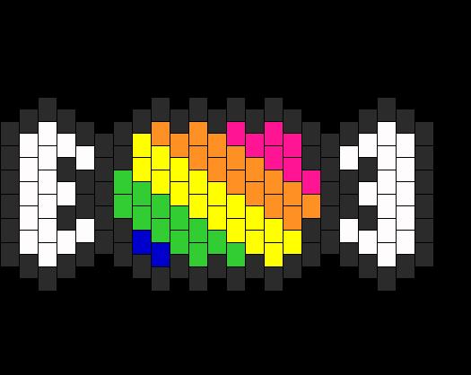 Rainbow Kandi