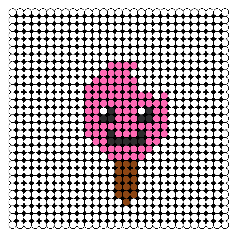 Bitten Ice Pop Perler Bead Pattern / Bead Sprite