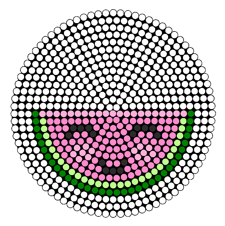Watermelon Perler