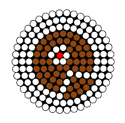 Cake Perler Bead Pattern / Bead Sprite