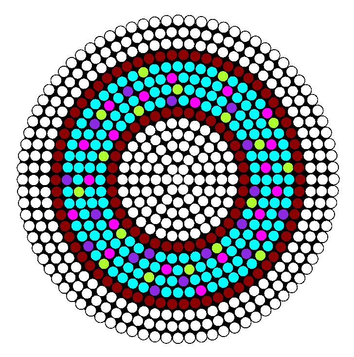 Tastey Donut Perler Bead Pattern / Bead Sprite