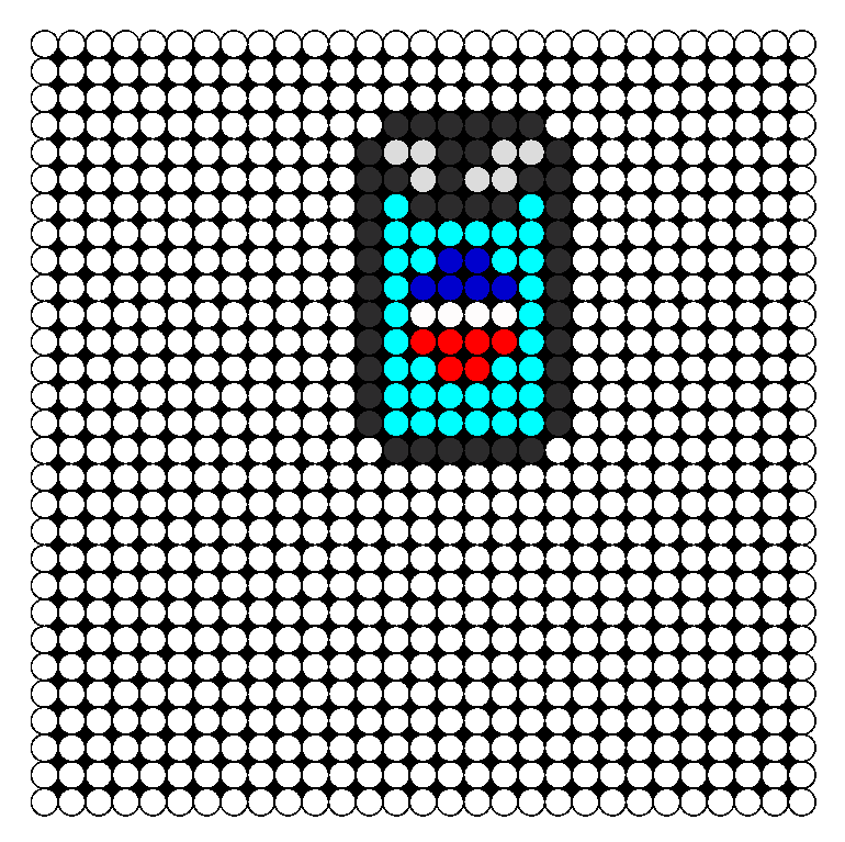 Pepsi Perler Bead Pattern / Bead Sprite
