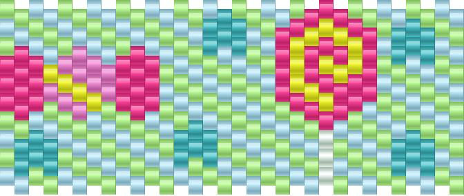 Candy Kandi Pattern