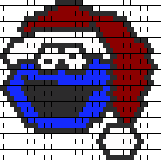 Cookie Monster In A Santa Hat