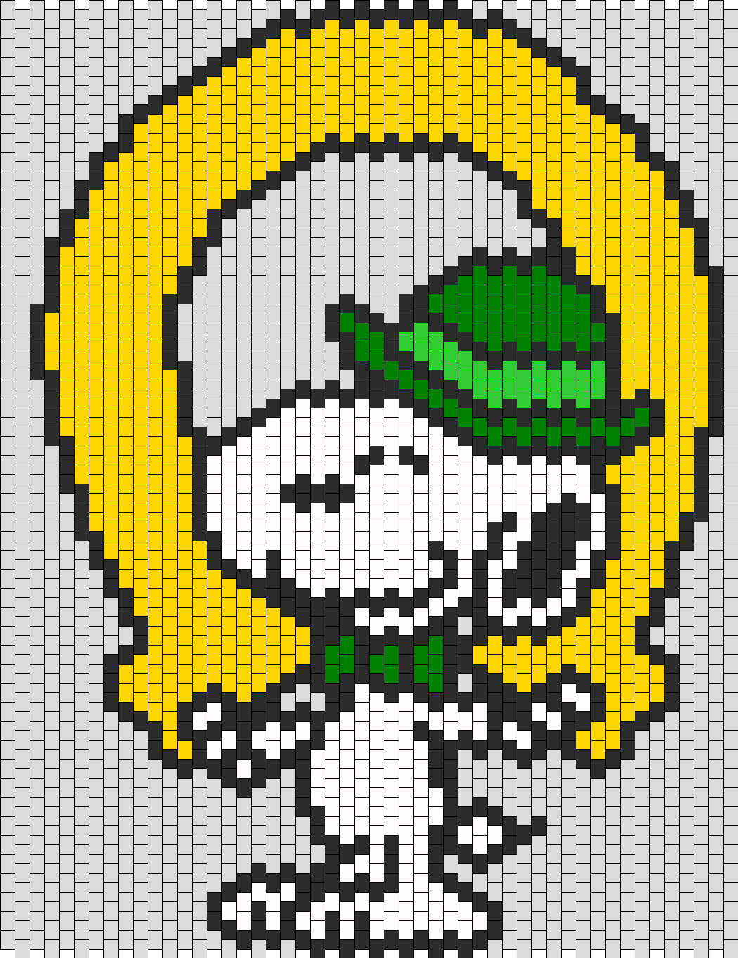 Luck Of The Irish Snoopy Bead Pattern
