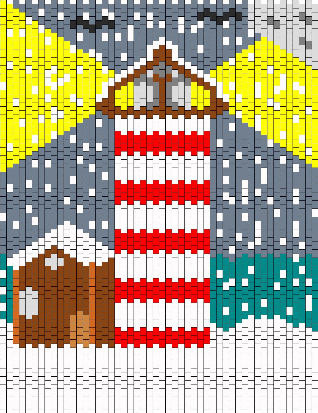 Christmas Lighthouse
