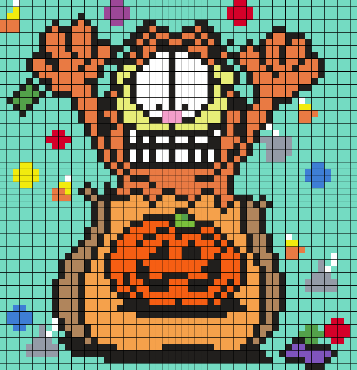 Garfield In A Halloween Treat Bag