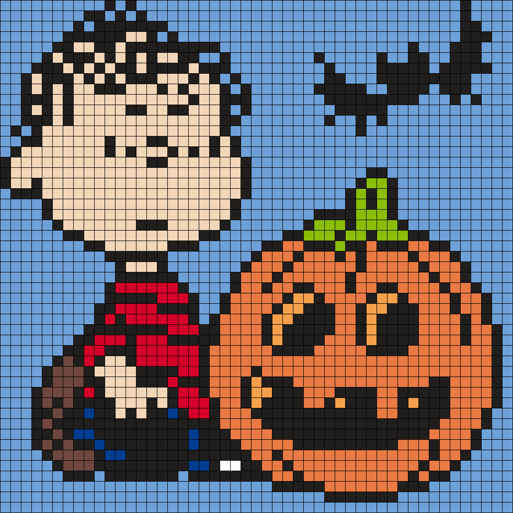 Halloween Linus From Snoopy And The Peanuts Gang (Square)