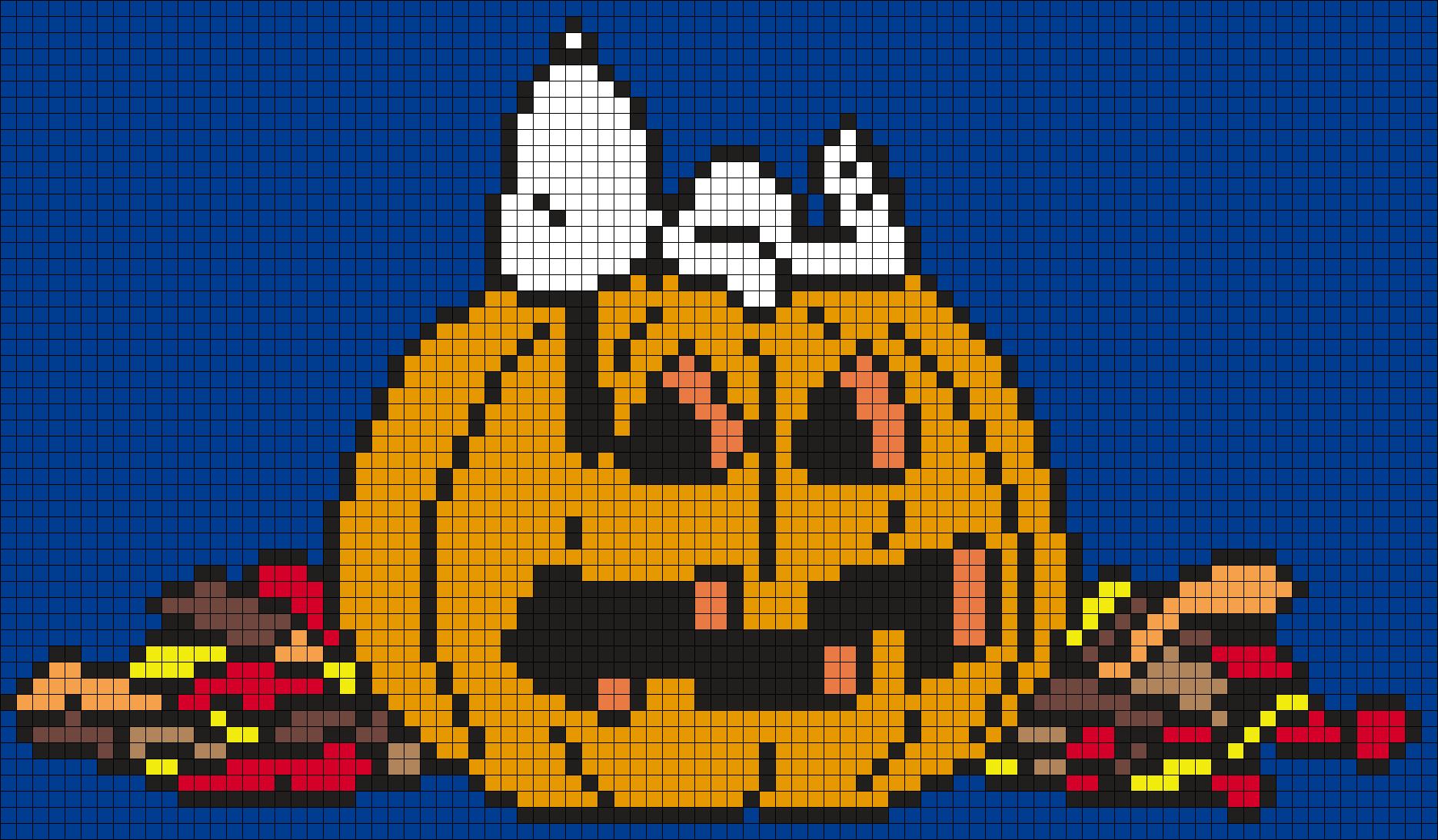 Halloween Snoopy On A Jack O'Lantern