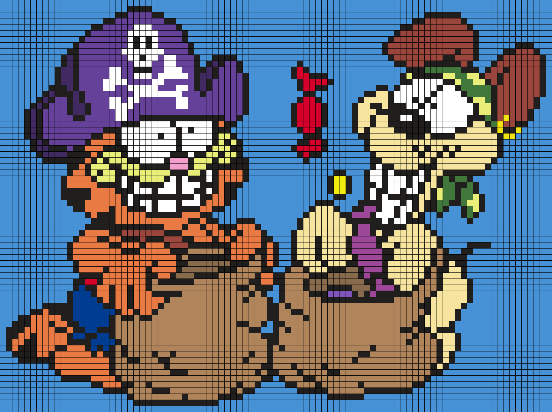 Garfield And Odie In Halloween Costumes