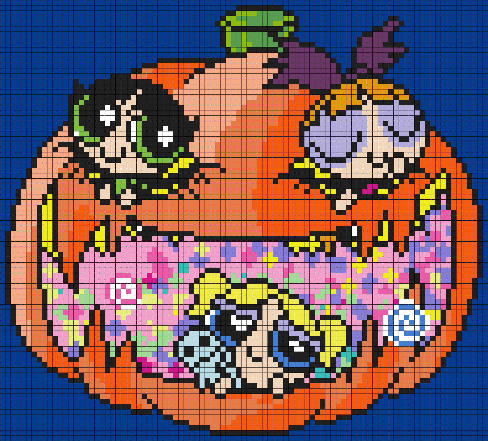 Halloween Powerpuff Girls Poster (Square)