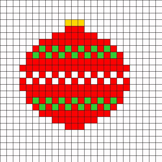 Christmas Ornament Pattern Andrew Fuller