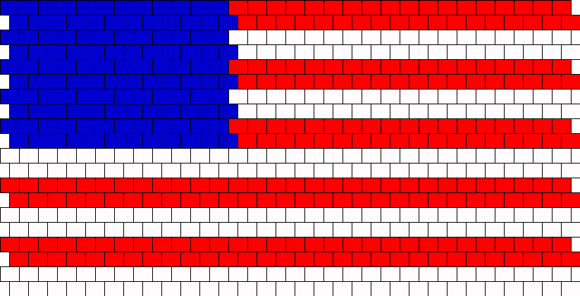 4th Of July Bead Pattern