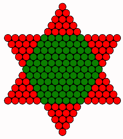 Christmas tree star FRONT
