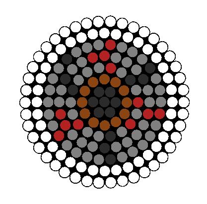 Eye Perler Bead Pattern / Bead Sprite