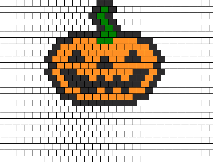 Pumpkin Bead Pattern
