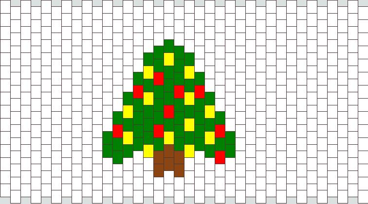 Christmas Tree Peyote