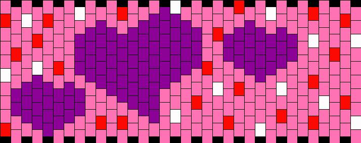 Happy Febuary Holiday Kandi Pattern