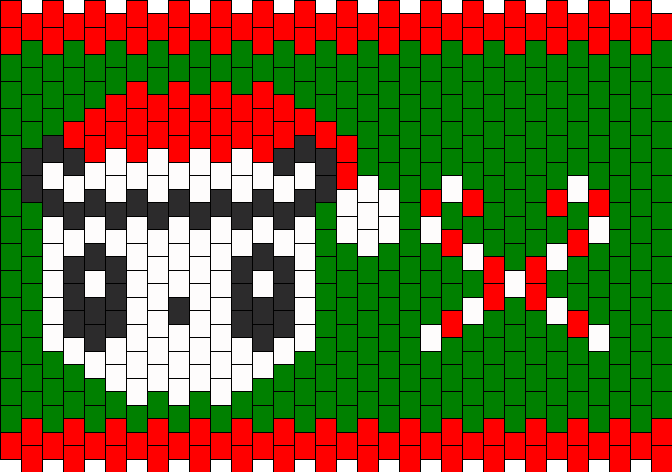 Christmas Hello Kitty Panda