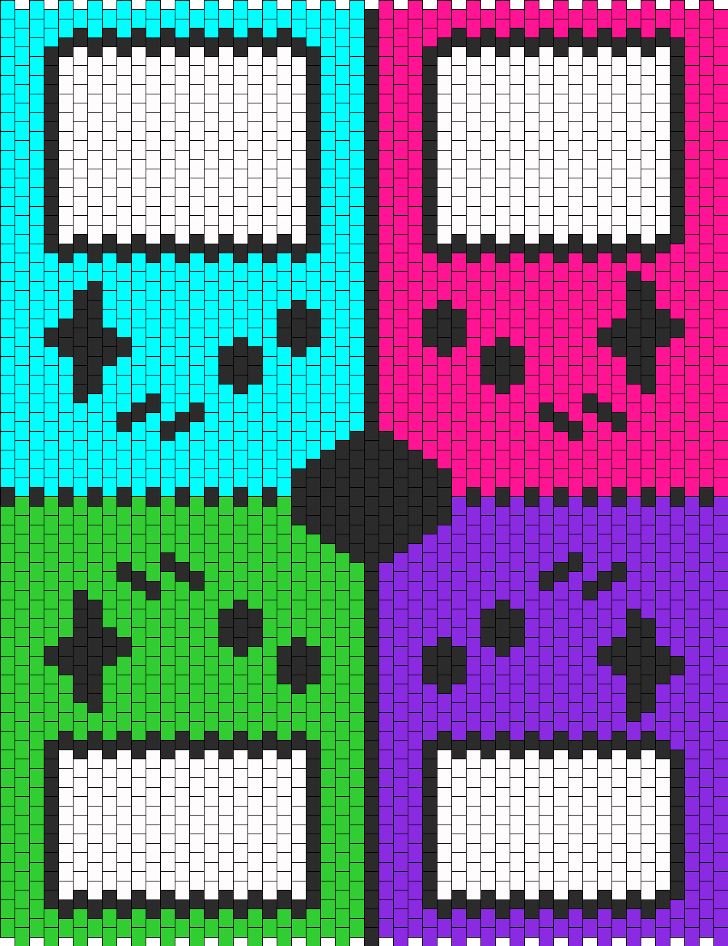 Game Boy Backpack Back Panel
