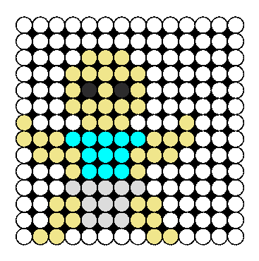 Baby Perler Bead Pattern / Bead Sprite