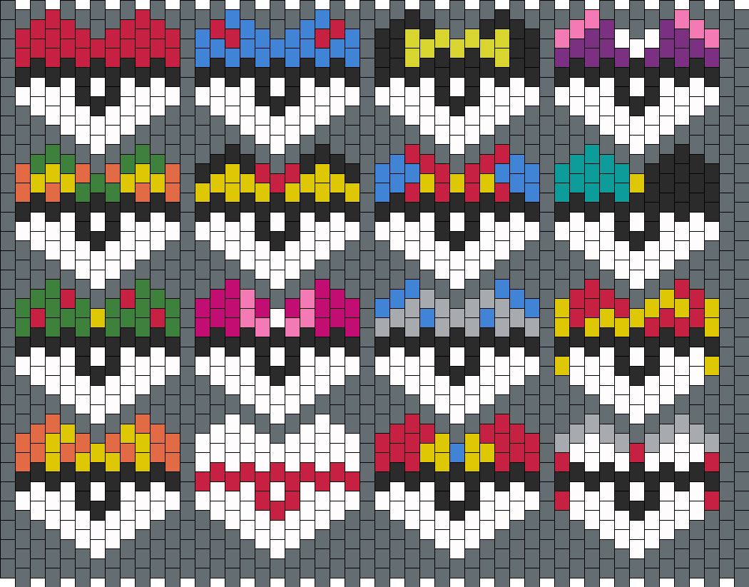 Pokehearts Bead Pattern