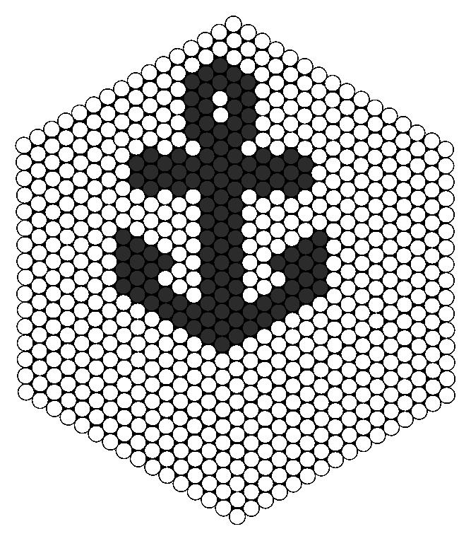 Larger Anchor Perler Perler Bead Pattern / Bead Sprite