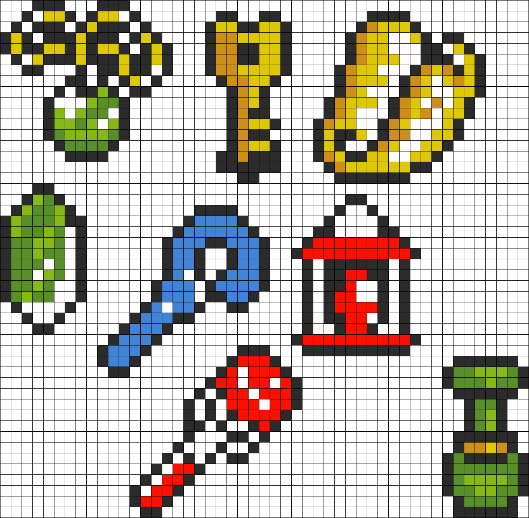 Legend Of Zelda Link To The Past Items